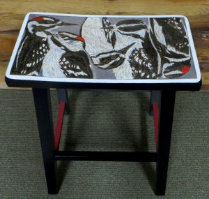WOODY's Wrest - Parawood Stool