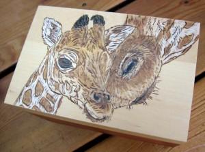 Mother and Child Reunion - Giraffes Box