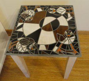 4 Piping Plovers Table - Parawood Table