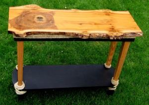 Bear Wood - myrtlewood table