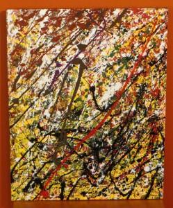 Fall Snow fall - 24 x 30 - canvas