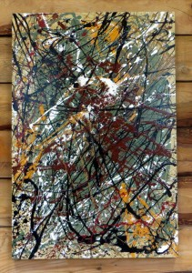 Granite - 24 x 36 - canvas