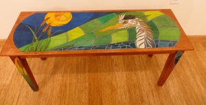 Great Blue Bench - Parawood Bench