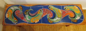 Playful Otters Bench - Parawood Bench