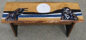 Raven's Rest - Art Auction Donation - Bench