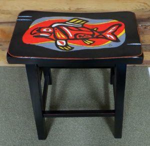 Salmon Seat - Parawood Stool