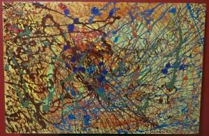 Static - 24 x 36 canvas