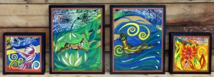 The Four Elements - Air, Earth, Water, Fire