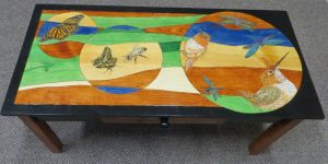 These are a few of my Favorite Things - Pine Table