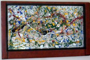 Upcycled Window Paints - I