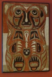 da Bear - wood - 25 x 17.5
